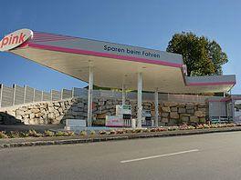 Pink-Tankstelle Oberkappel